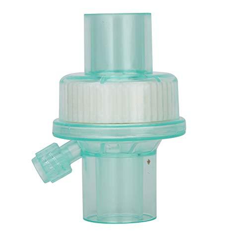Caiqinlen Filtro de máquina de respiración, Filtro efectivamente Verde para Equipos de Aislamiento y filtración para Circuito de respiración de anestesia(Green Filter) ✅