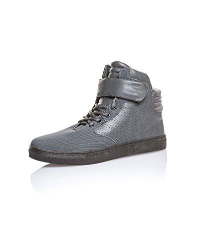 Gov Denim - Steigende grau Klett Basketball - Size: 42, Color: Grau