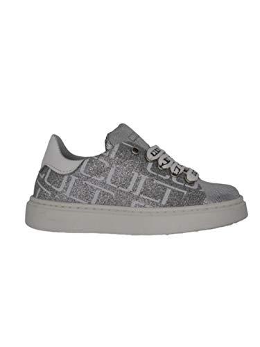 Cult Sneaker Silber Mädchen, Silber - silber / schwarz - Größe: 25 EU