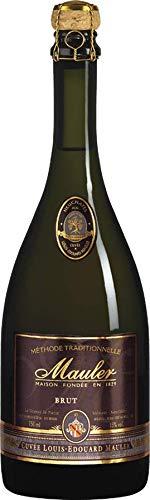 1 Flasche Cuvée Louis-Edouard Mauler 2011 AOC brut Schaumwein brut Pinot Noir, Chardonnay 13,00% 0,75 lt
