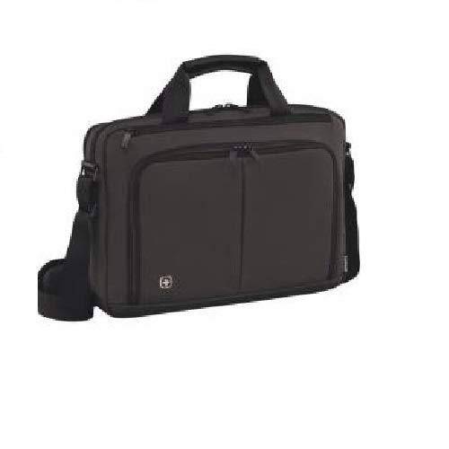 """Wenger 601065 Source - Maletín con compartimento acolchado para portátil (14"""") color gris"""