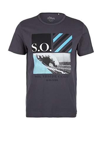 s.Oliver Herren 130.12.005.12.130.2038390 T-Shirt, Ebony, 3XL