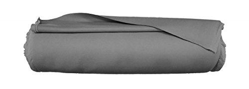 Navyline Neopren Stoff 3 mm Material Zuschnitt nähen Meterware, Farbe:dunkelgrau