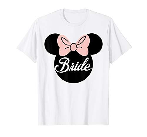 Disney Bridal Minnie Bride Silhouette T-Shirt