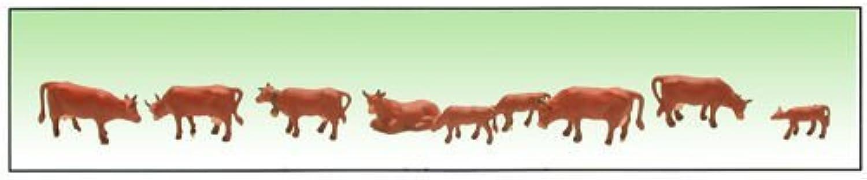 Model Power 1351 Cows & Calves Brown (9) N by Model Power