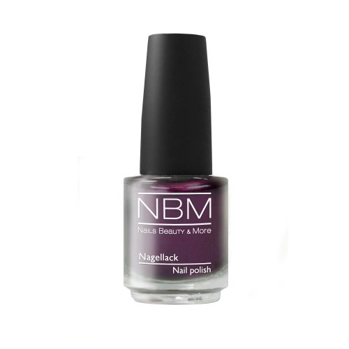 NBM Nagellack Nr. 59 glamour grape 14 ml