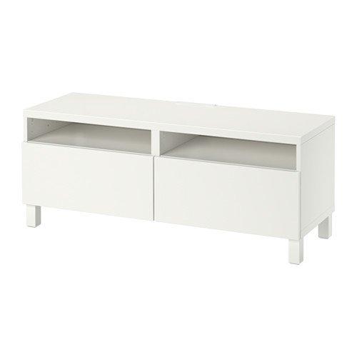 Ikea TV-Einheit mit Push-Open Schubladen, lappviken weiß 4202.2058.1818