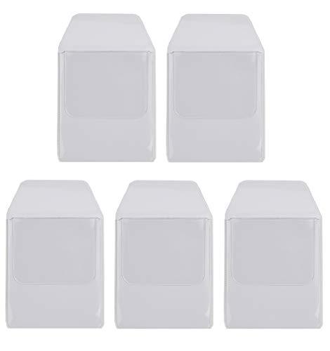 sky voyage (スカイ ボイエッジ) ポケットガード ペンケース ワイシャツ 白衣 ポケット 汚れ防止 5枚セット (透明)