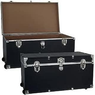 Mercury Luggage Wheeled Storage Locker, Black, 31