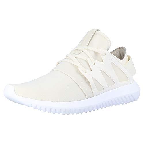 adidas Originals Tubular Viral W señoras Zapatillas Blancas S75579, Size:40