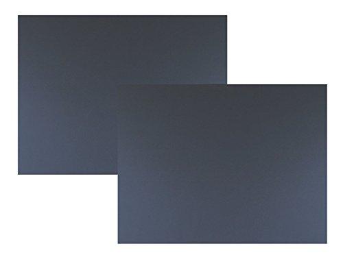 代引対応 カラーダンボール板 2枚セット カラー (ブラック, 850×600)