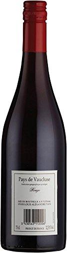 Back Label Vaucluse Rouge, Pays de Vaucluse (Case of 6x75cl), Frankreich/Gascony&Vaucluse, Rotwein (GRAPE GRENACHE, SYRAH, MERLOT)