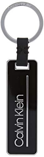 Calvin Klein Herren Primary Keyfob Schultertasche, Schwarz (BLACK), 0x0x0cm