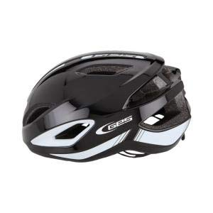 GES Casco Air-7 Blanco-Negro - Talla: M (54-59 cm)