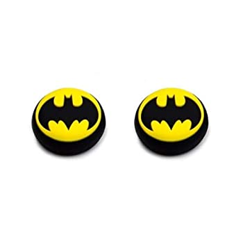 2 x Silicone Analog Joystick Thumbstcks Thumb Stick Grips Caps Cover for PS4 PS4 Pro Slim PS3 Xbox One Xbox 360 PS2 Nintendo Switch Pro Controller