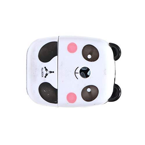 Sacapuntas manual lindo escuela inmóvil niños manivela escritorio Panda