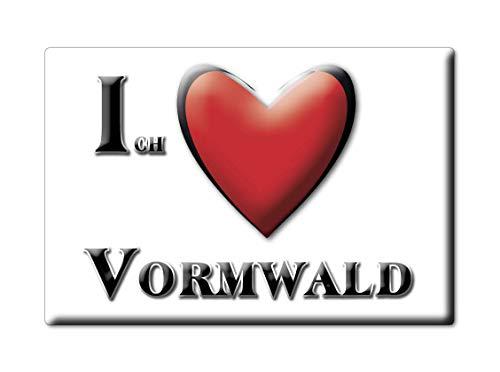 Enjoymagnets VORMWALD (NW) Souvenir Deutschland Nordrhein Westfalen Fridge Magnet KÜHLSCHRANK Magnet ICH Liebe I Love