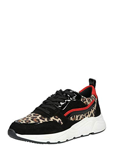 PS Poelman Damen Sneaker Low 5614 schwarz 40