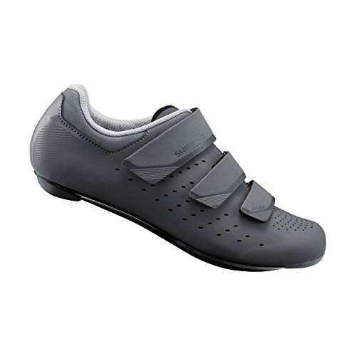 SHIMANO SH-RP201 LSG Series Performance On Road Cycling Women's Bicycle Shoes, Gray, 40