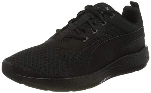 PUMA Nrgy Elate, Zapatillas para Correr de Carretera Hombre, Negro Black, 39 EU