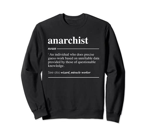 Definición anarquista Funny Sustantivo Sudadera
