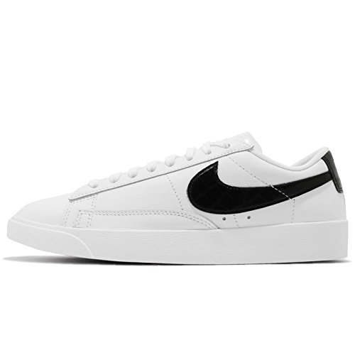 Nike Damen W Blazer Low Basketballschuhe, Weiß (White/Black 100), 38.5 EU