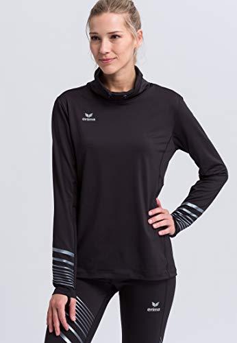 ERIMA Damen Longsleeve Race Line 2.0 Running, schwarz, 34, 8331907