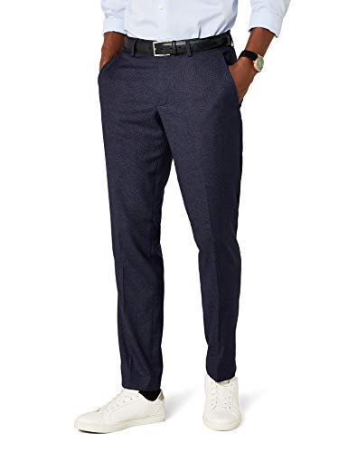 ESPRIT Herren Premium 037EO2B016 Anzughose, Blau (Navy 400), 48