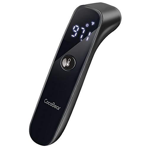 CocoBear termómetro digital bebés, termómetro infrarrojo, termómetro frente, termómetro para niños y...