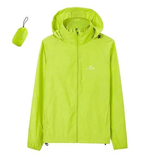 Générique Combinaison de Protection Solaire Ultra Fine Respirante pour Le Camping, Vert, Taille L