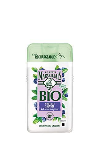 Le Petit Marseillais Myrtille Sauvage Wild Blueberry energetisierendes Duschgel 250 ml.