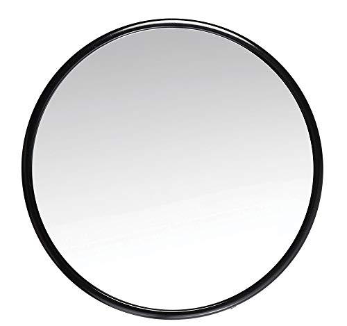 Espelho de Aumento 3 X com Ventosa, Ricca, Preto