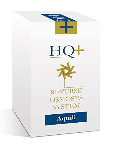 Aquili Ro Classic Hq+ - 75 Galloni - Rapporto 1:2 tra Osmosi E Scarto - Tratenuta Sali Oltre 98% - 1100 g