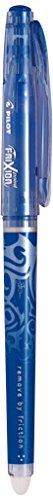 PILOT Tintenroller FRIXION BALL CLICKER 07 BASIC, 4er Etui