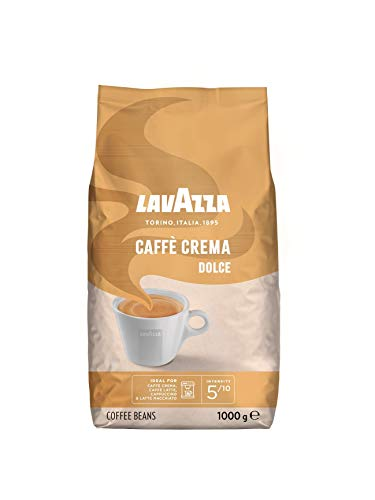 Lavazza Kaffeebohnen - Caffè Crema Dolce - 6er Pack (6 x 1 kg)