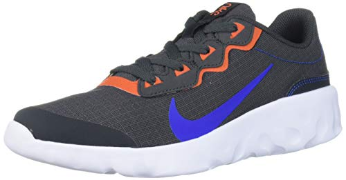 Nike Unisex-Kid's Explore Strada Grade School Sneaker, Anthracite/Hyper Royal-Cosmic Clay-Black, 7Y Regular US Big Kid