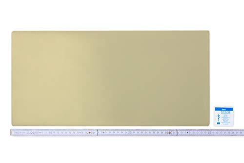 Flickly Anhänger Planen Reparatur Pflaster | in vielen Farben erhältlich | 50cm x 24cm | SELBSTKLEBEND (Elfenbein)