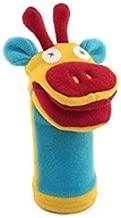 Cate & Levi - Fleece Hand Puppet - Handmade in Canada - Great for Storytelling (Giraffe)
