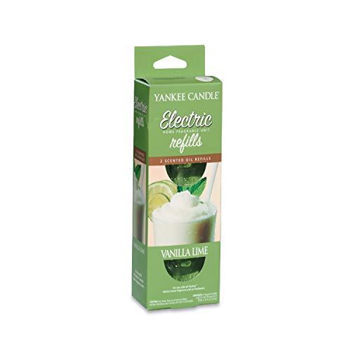 Yankee Candle Scentplug Ricarica per Diffusore Elettrico, Vanilla Lime
