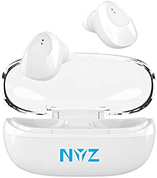 NYZ in-Ear True Wireless Headphones with Microphone Portable Charging Case