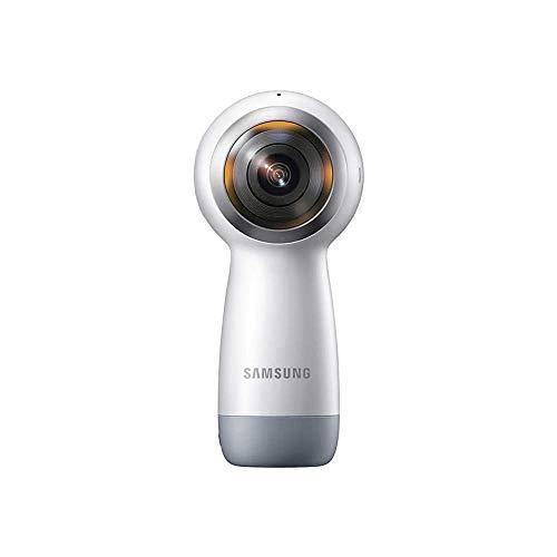 Filmadora Gear 360 SM-R210 White, Samsung 123461, Preto
