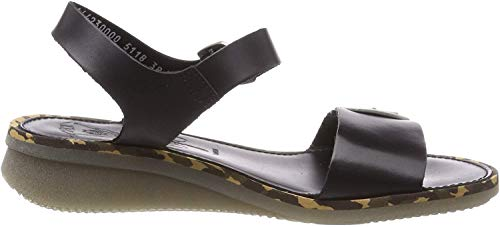 Fly London Damen Comb230fly Sandalen, Schwarz (Black 000), 39 EU