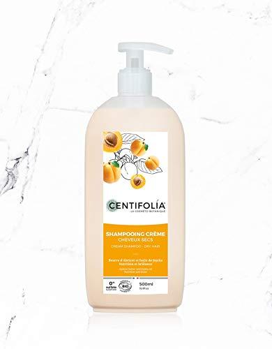Shampooing cheveux secs, 500ml - CENTIFOLIA