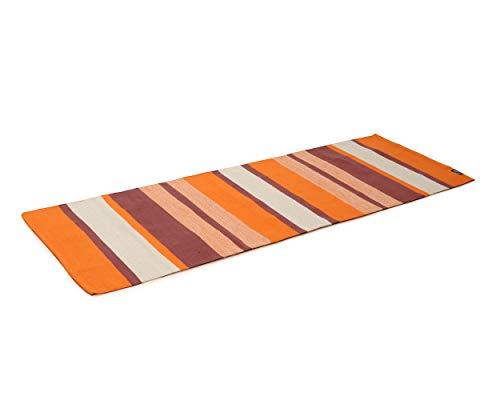 Yogishop Yogateppich Cotton Rug - Striped Desert