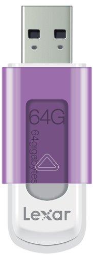 Lexar JumpDrive S50 Chiavetta USB 64 GB, Compatibile Mac, Viola