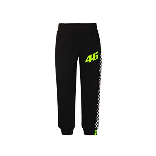 Valentino Rossi Vr46 Classic T-Shirt, Hose, PANTVR46CBB, Schwarz, 8/9