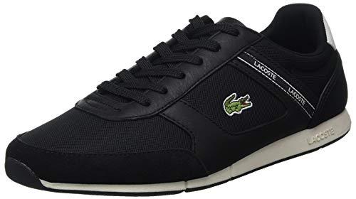 Lacoste Herren MENERVA Sport 0120 1 CMA Sneaker, Schwarz Blk Off Wht, 42.5 EU