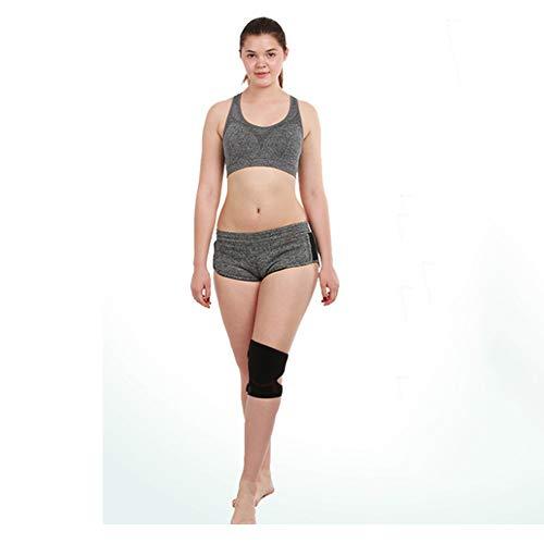 CLHCilihu Anti-botsing rubber knie pads, verstelbare ondersteuning sportpads, ingebouwde EVA ringen, hardlopen, outdoor rijden comfortabeler, minder stress, pijn