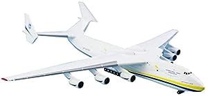 飛行機モデルダイキャスト飛行機合金モデル1/400アントノフAn-225ムリヤ飛行機モデル大人のおもちゃと装飾83インチX87インチ