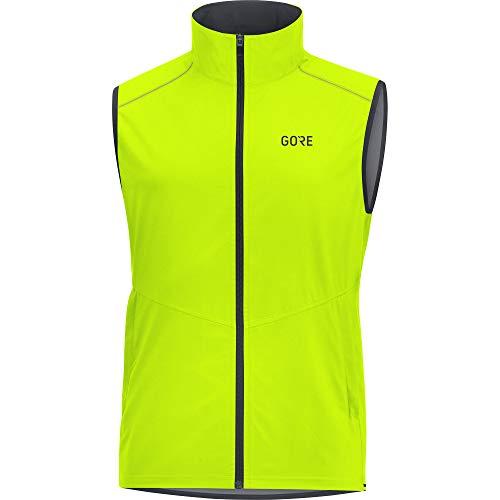 GORE Wear R3 Herren Weste GORE WINDSTOPPER, M, Neon-Gelb
